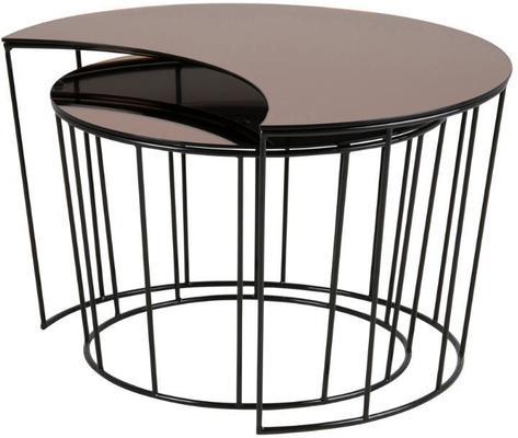 Sunmin coffee table set image 6