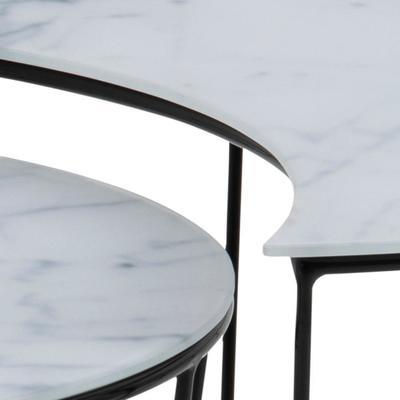 Sunmin coffee table set image 7