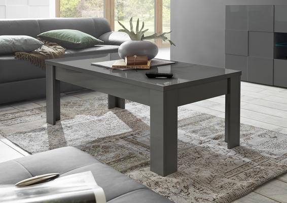 Treviso Coffee Table Gloss Grey Finish Coffee Tables