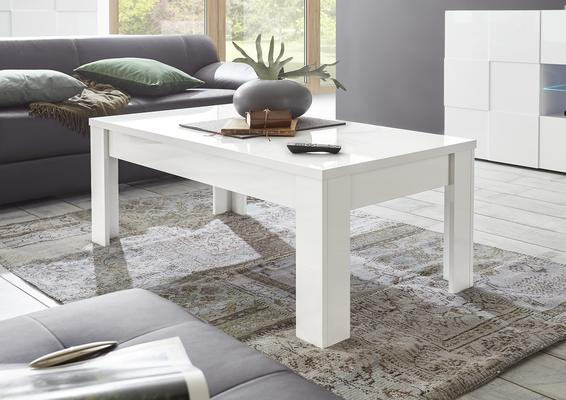 Treviso Coffee Table - Gloss White Finish