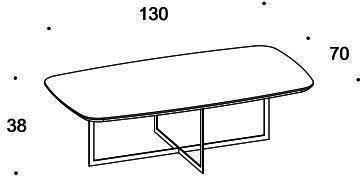 Elysee coffee table image 5