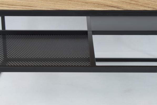 Foursquare Coffee Table - Oak and Black finish image 2