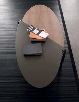 Smart oval coffee table image 2