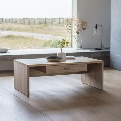 Kielder Rectangular Coffee Table Solid Oak image 2