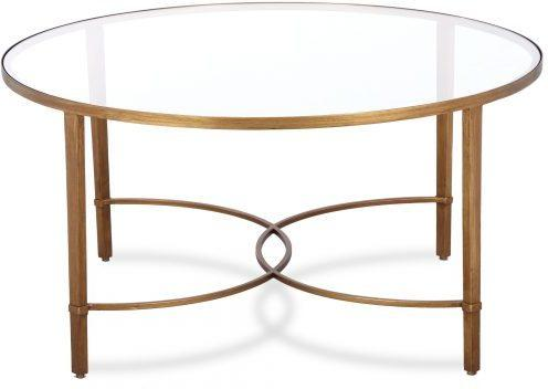 Cumberland Coffee Table Antique Silver or Gold