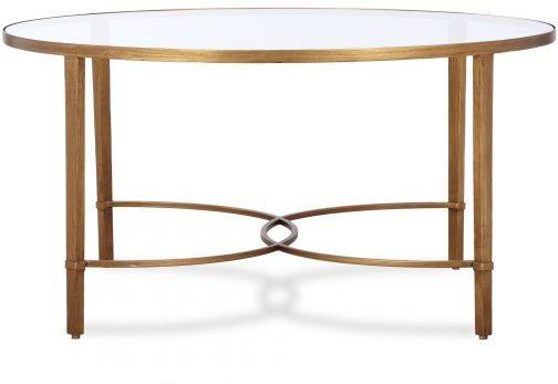 Cumberland Coffee Table Antique Silver or Gold image 2