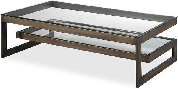 Ziggi Coffee Table Bronze Steel image 5