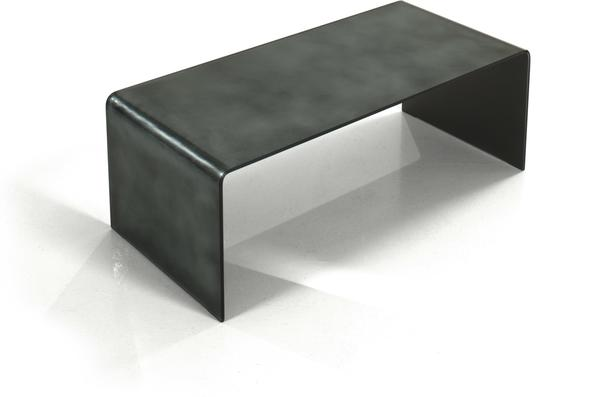 Genoa Glass Coffee Table Anthracite Finish Coffee Tables