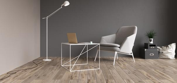 Small X Steel Side Table - White image 4