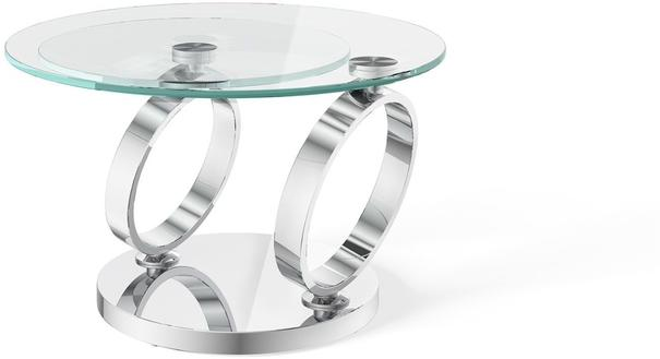 Athens swivel extending coffee table image 2