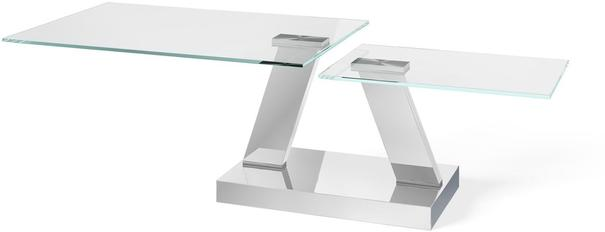 Adriana swivel extending coffee table