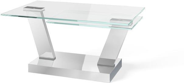 Adriana swivel extending coffee table image 2