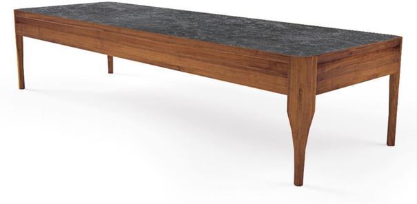 Chiara rectangular coffee table