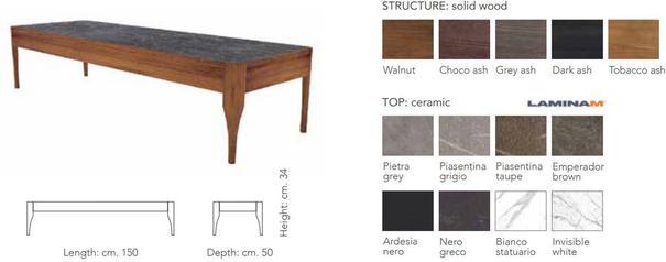 Chiara rectangular coffee table image 3