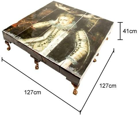 Grand Queen Reclaimed Coffee Table image 5
