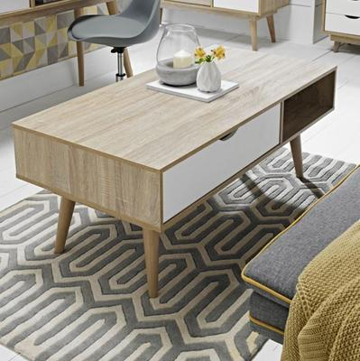Scuna coffee table with drawer