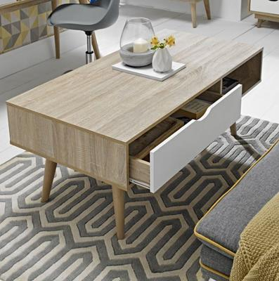 Scuna coffee table with drawer image 5