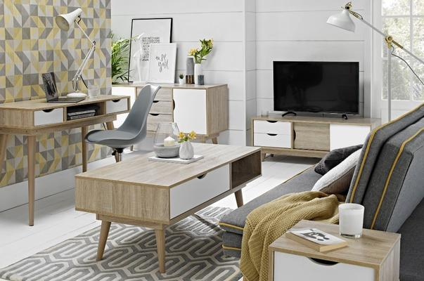 Scuna coffee table with drawer image 9