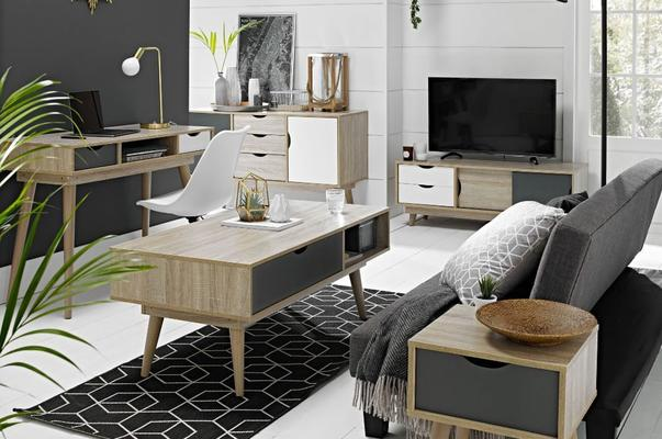 Scuna coffee table with drawer image 10