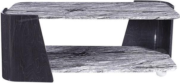 Sorrento Coffee Table Dark Grey Slate High Gloss - JF907