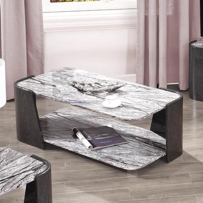Sorrento Coffee Table Dark Grey Slate High Gloss - JF907 image 2