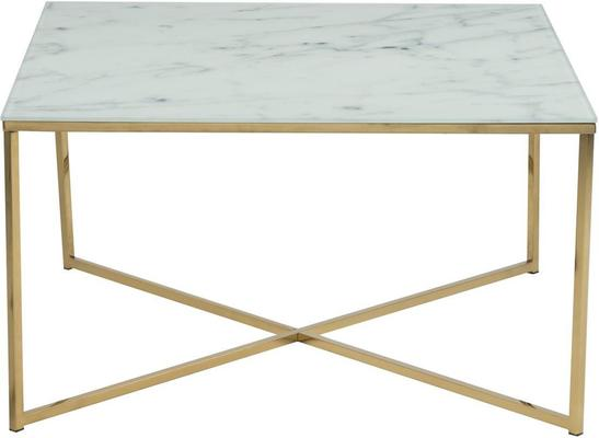 Alismar square coffee table