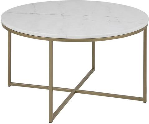 Alismar round (marble) coffee table