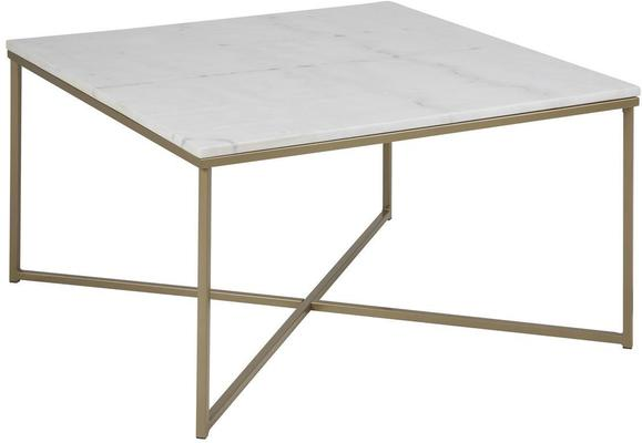 Alismar square (marble) coffee table