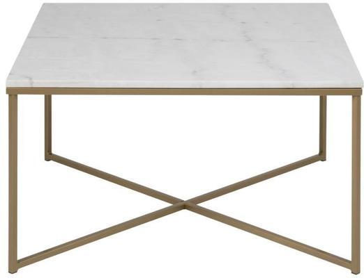 Alismar square (marble) coffee table image 2
