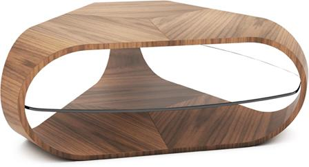 Tom Schneider Cornerless Tri Coffee Table