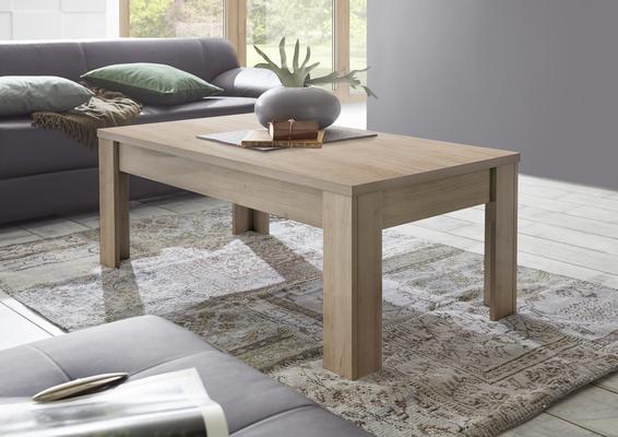 Bergamo Coffee Table - Kadiz Oak Finish