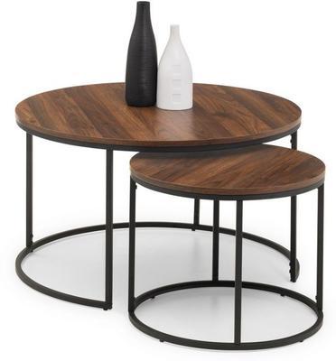 Santos round nesting coffee table image 2