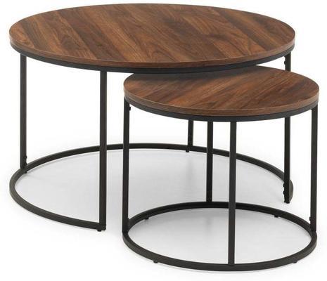 Santos round nesting coffee table image 3