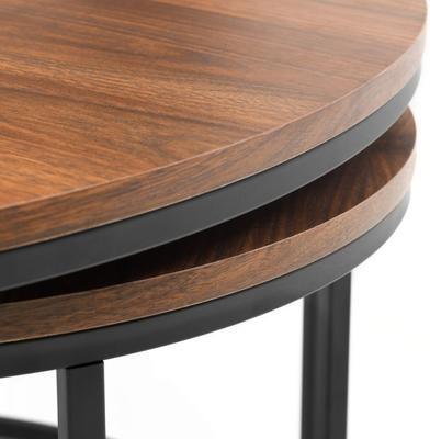 Santos round nesting coffee table image 4