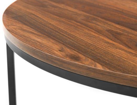 Santos round nesting coffee table image 5