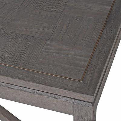 Bardon Oak Inlay and Brass Coffee Table image 2