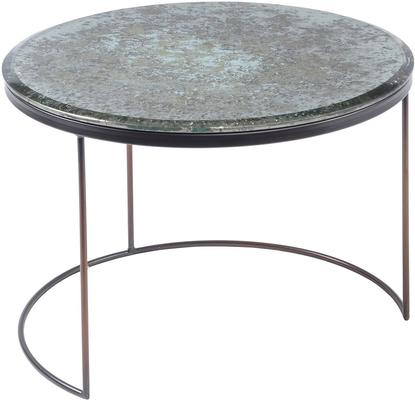 Rocky Antique Mirror Coffee Table Small