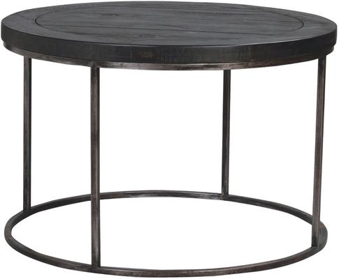 Hadley Charcoal Round Coffee Table
