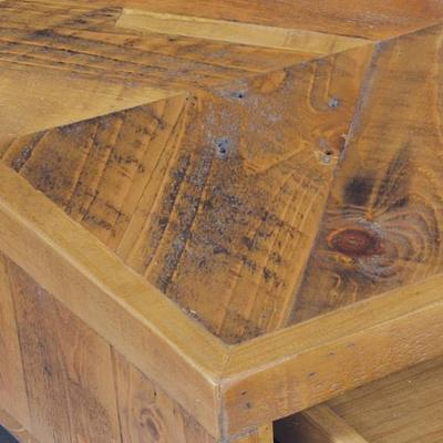 Thorpe Parquet Four Drawer Coffee Table image 2