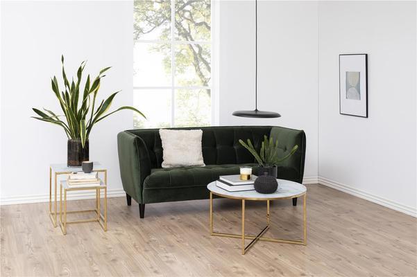 Alismar round coffee table (Sale) image 5