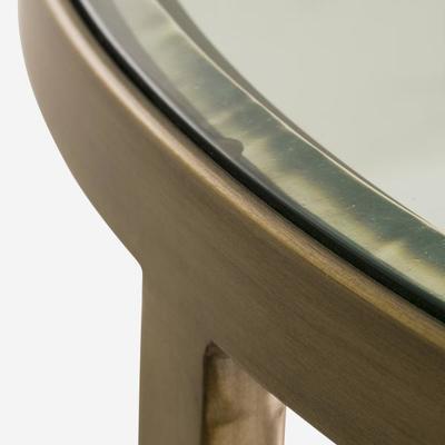 Sundance Brass Coffee Table Glass Top image 9