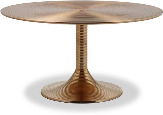 Rialto Brass Coffee Table image 2