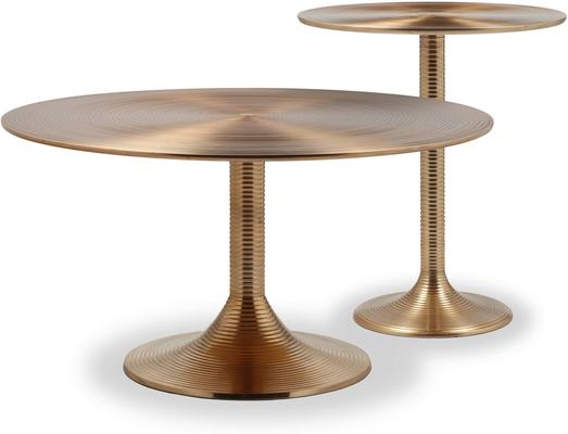 Rialto Brass Coffee Table image 4