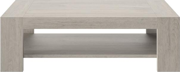 Boston Rectangular Coffee Table - Light Grey Oak Finish image 2