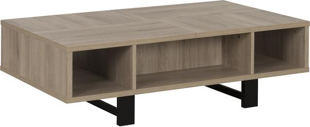 Clay Coffee Table One Drawer - Light Natural Oak Finish image 5