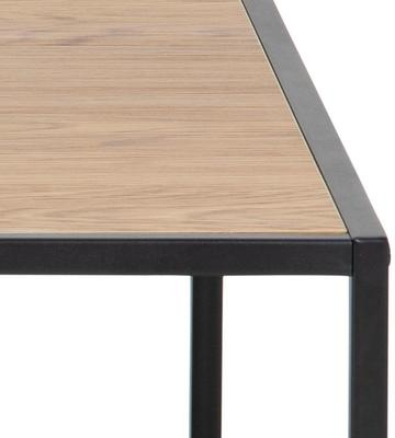 Seafor square coffee table with shelf image 5