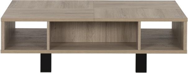 Clay Coffee Table One Drawer - Light Natural Oak Finish (Sale) image 4