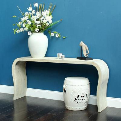 Curved Console Table image 3