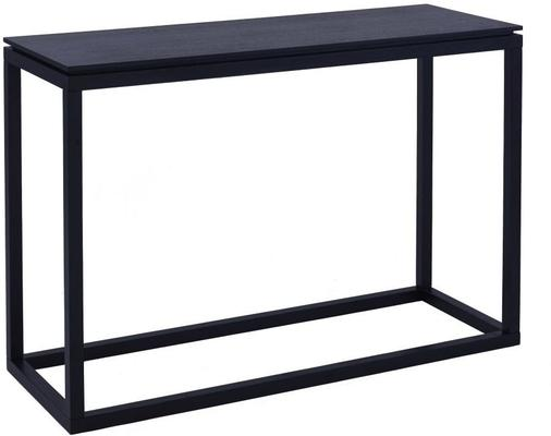Cordoba Modern Large Console Table Black Wenge Modern