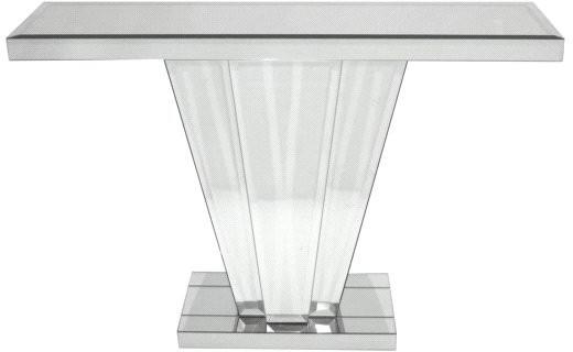 Venetian Mirrored Fan Console Table Art Deco